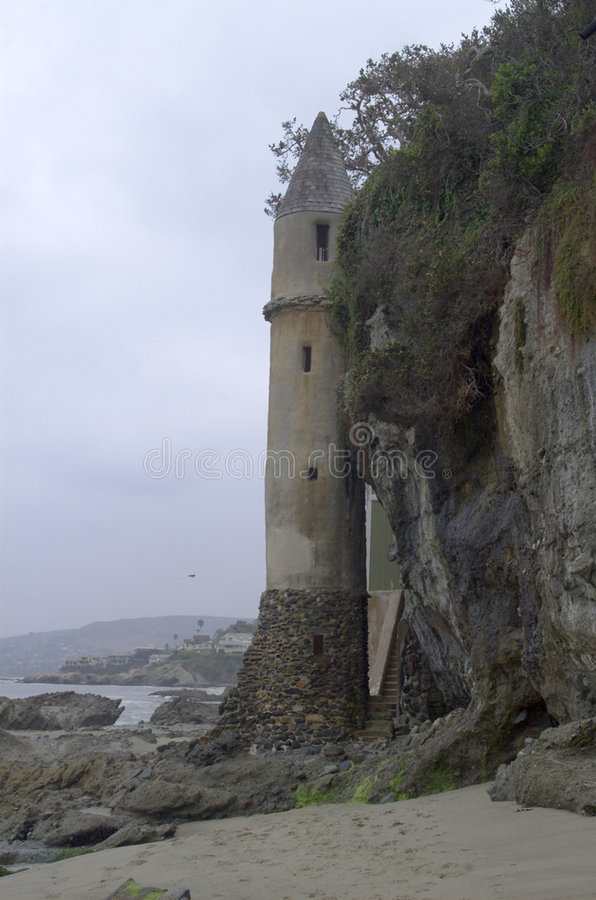 Download Fairy tale like tower stock image. Image of beach, rocky - 200049