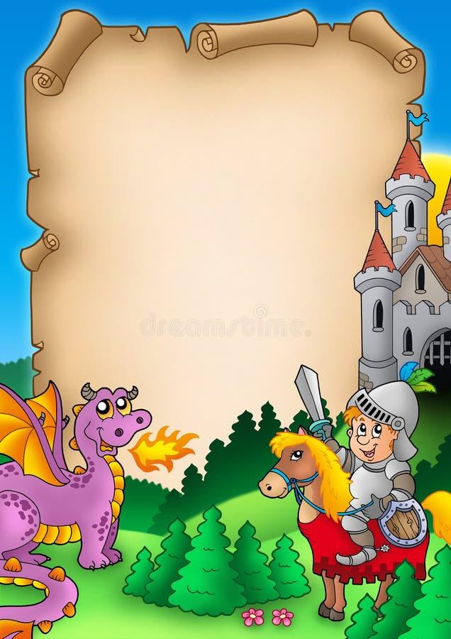 Fairy Tale Parchment 1 Stock Photo