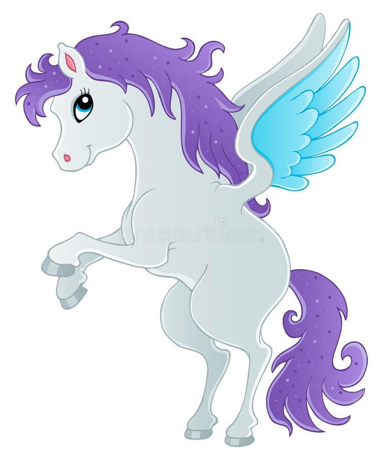 Download Fairy Tale Pegasus Theme Image 1 Royalty Free Stock Photo - Image: 26344555