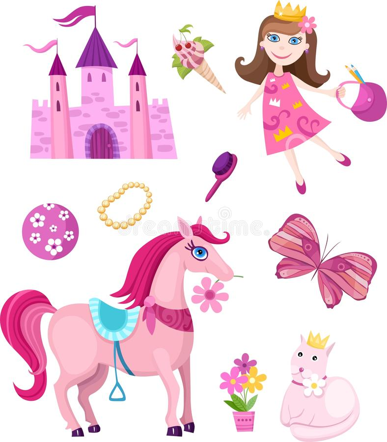 Download Fairy-tale Set Royalty Free Stock Photo - Image: 13528175