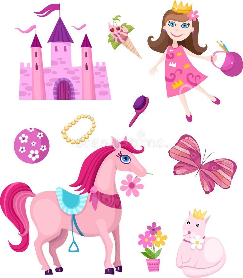 Free Fairy-tale Set Royalty Free Stock Photo - 13528175
