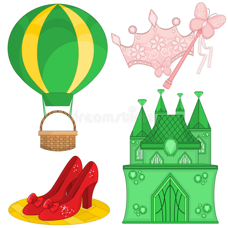 Fairy Tale Set royalty free stock photo