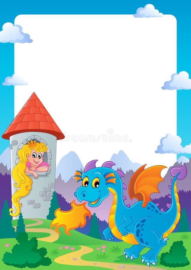 Free Fairy Tale Theme Frame 2 Royalty Free Stock Photo - 26218075