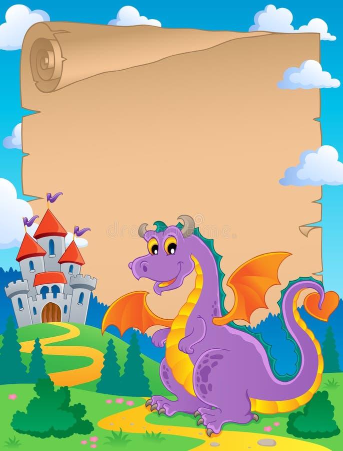 Download Fairy Tale Theme Parchment 1 Stock Vector - Illustration: 26193999