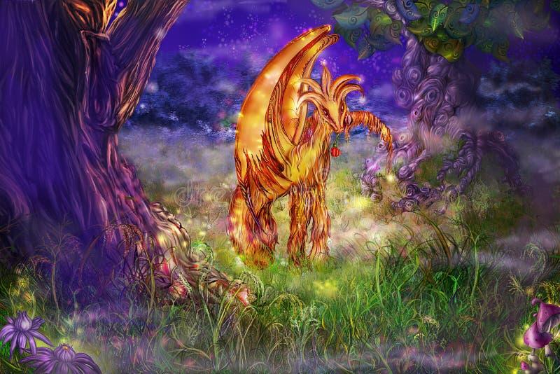 Fairy-talegeschöpf stock abbildung