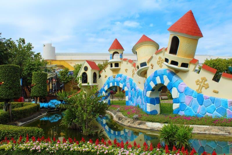 Fairy Tales Land. Dream World Park, Bangkok stock photos