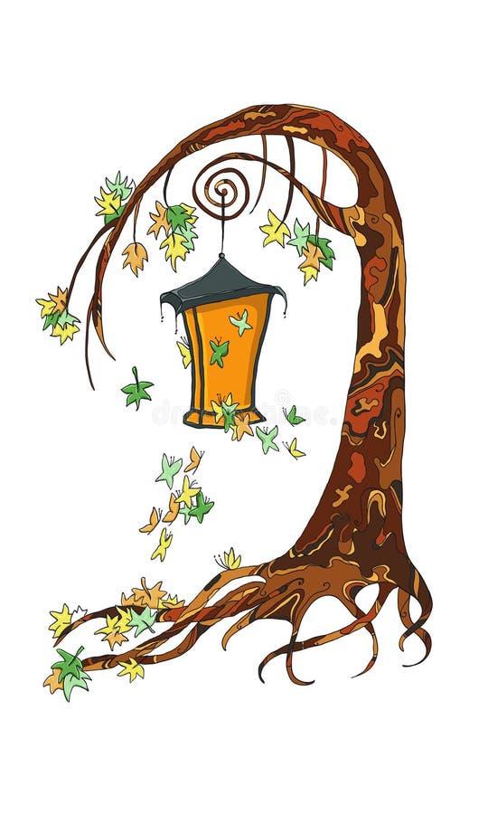 Fairy tree stock image
