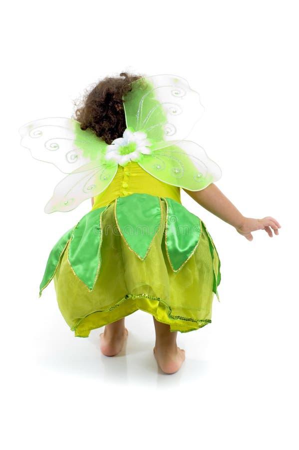 Fairy verde imagens de stock