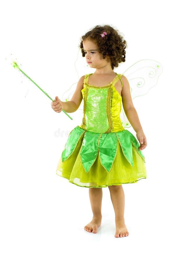 Fairy verde immagini stock libere da diritti