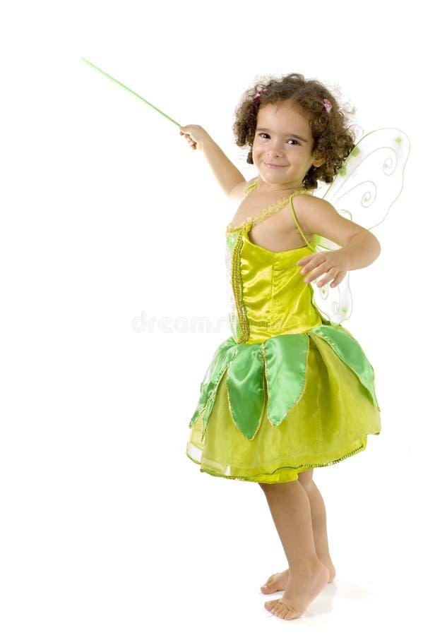 Fairy verde imagem de stock