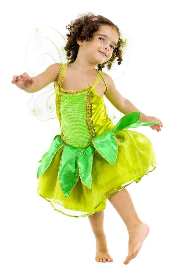 Fairy verde fotografia de stock royalty free
