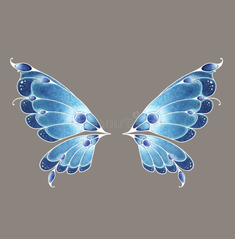 Download Fairy Wings stock illustration. Illustration of prop, sparkle - 6650651