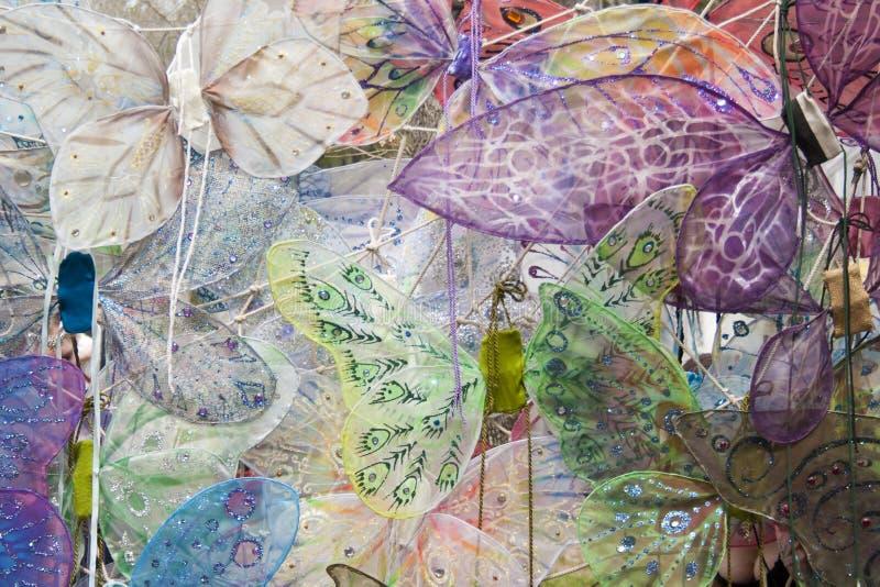 Fairy wings royalty free stock photos