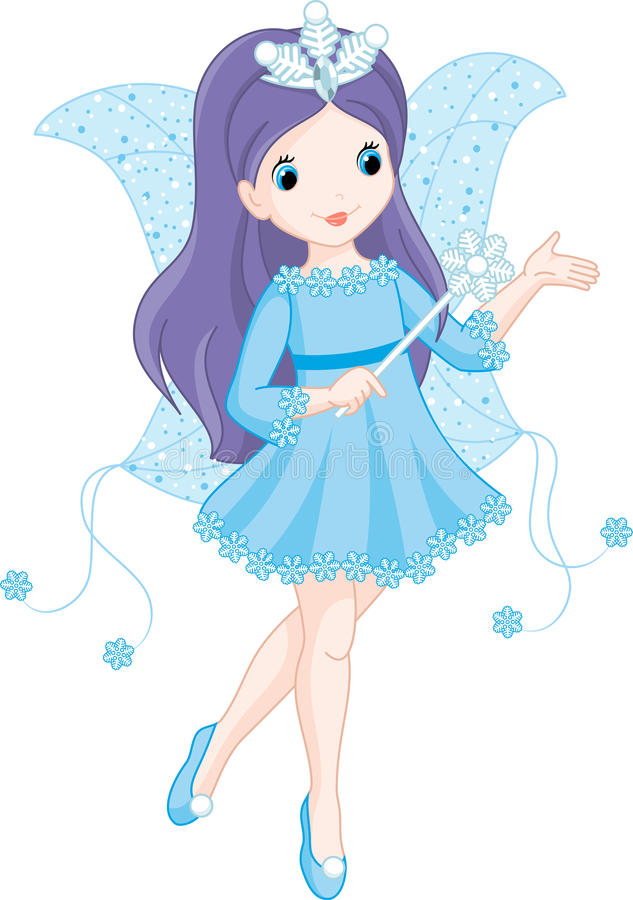 Download Fairy winter stock vector. Image of story, wand, fantasy - 34653923