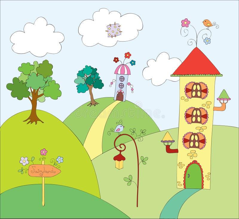 fairyland иллюстрация штока