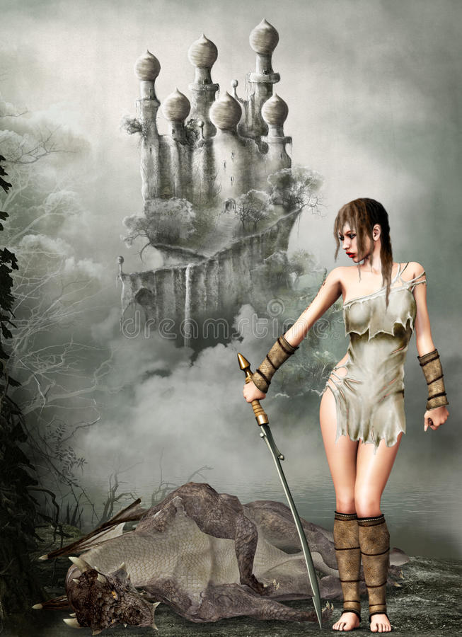 Fairytale royalty-vrije illustratie