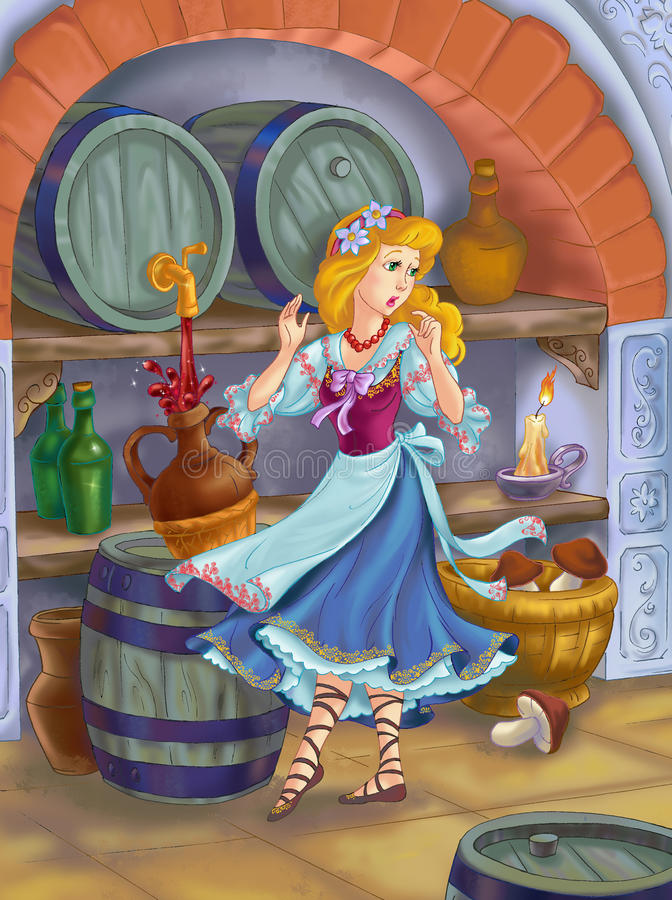 Download Fairytale Beauty  In The Cellar Stock Photos - Image: 15112743