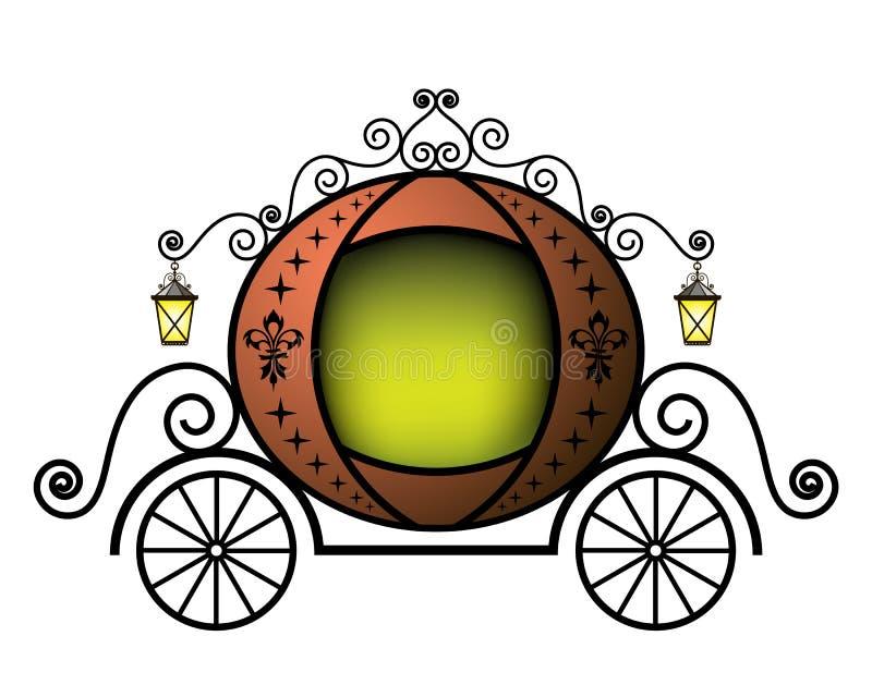 Fairytale carriage vector illustration