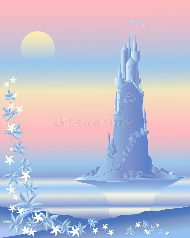 Download Fairytale castle stock vector. Image of outdoors, landscape - 19083819