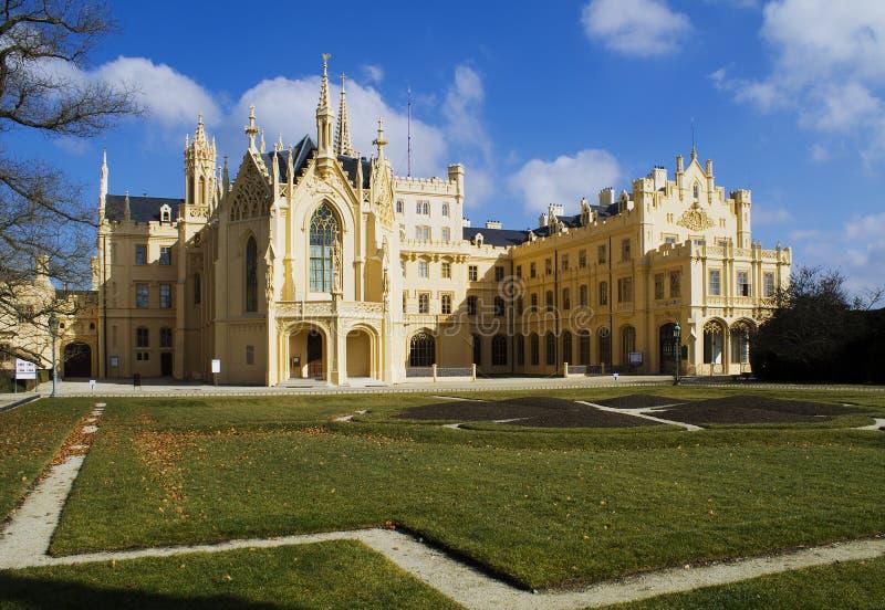 Fairytale castle stock images