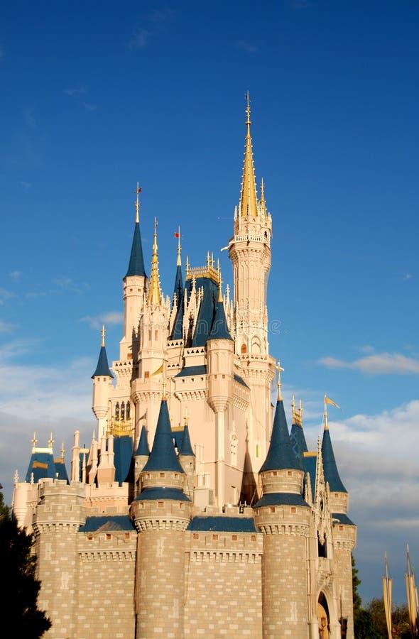 Fairytale castle stock photos