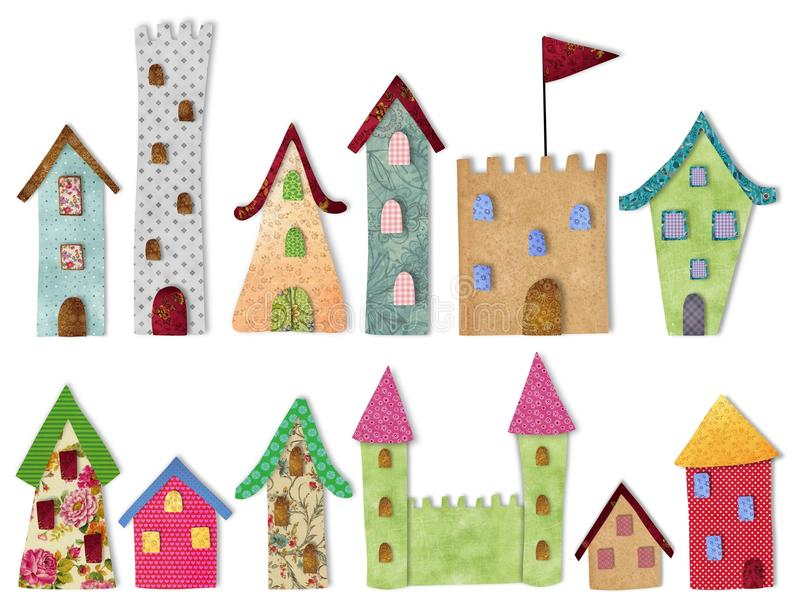 Download Fairytale  City stock illustration. Image of castle, decorative - 37158957