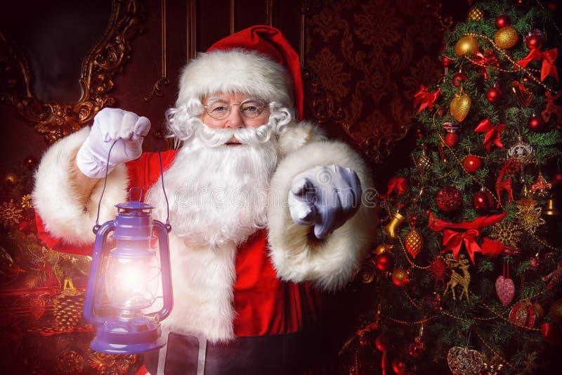Fairytale de Kerstman royalty-vrije stock afbeelding