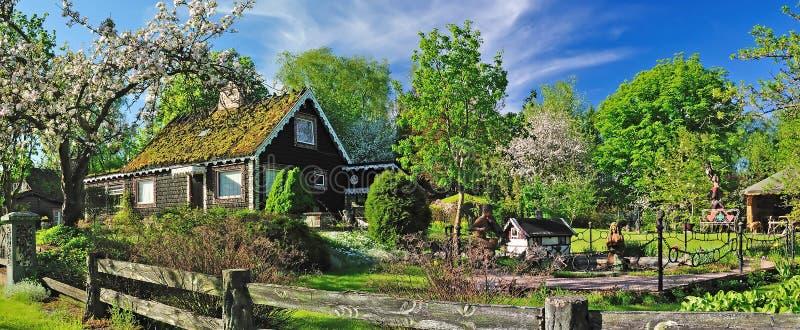 Fairytale land stock photos