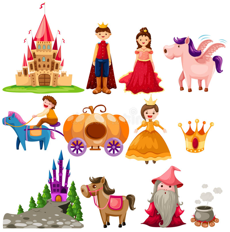 Free Fairytale Set Stock Image - 17588931