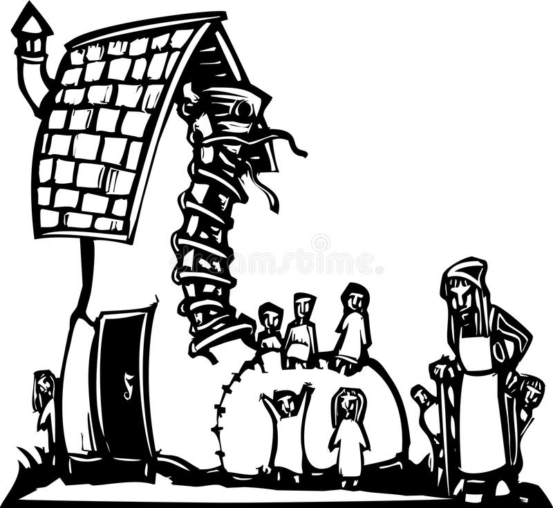 Reindeer Outline also Design your own hat moreover Royalty Free Stock Photo Fairytale Woodcut Image Old Woman Who Lived Shoe Image29960875 furthermore Kes Yap Sayfalar as well Stock Photo Fairy Fairie Which Can Help You Life Image50870193. on elf house plans