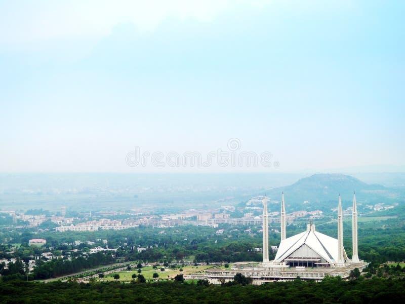 faisal μουσουλμανικό τέμενος shah στοκ εικόνα
