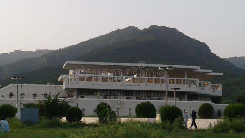faisal мечеть islamabad стоковые фотографии rf
