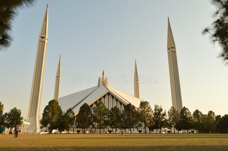 Faisal Masjid arkivfoto