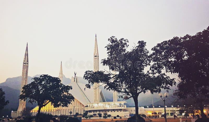 Faisal Masjid zdjęcia royalty free