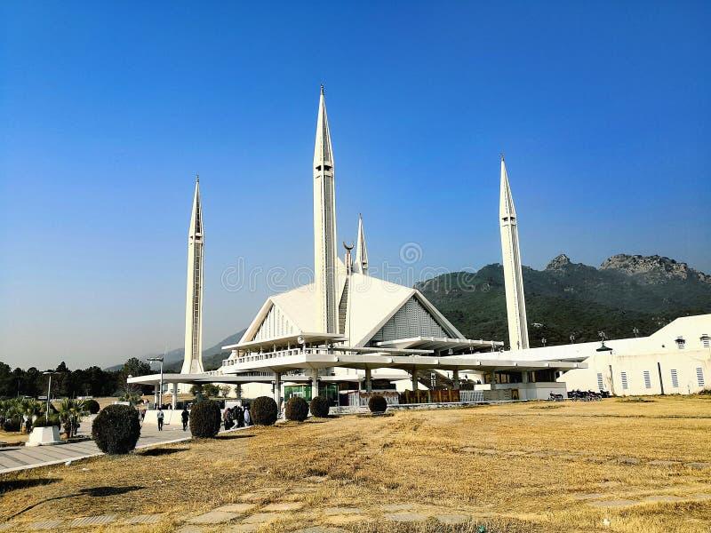 Faisal meczet fotografia stock