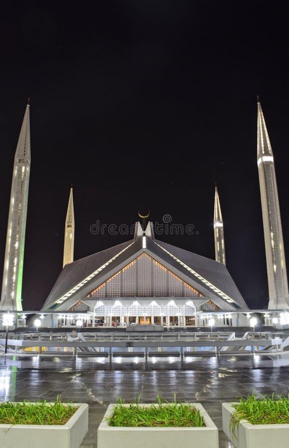 Faisal Mosque Islamabad photos libres de droits