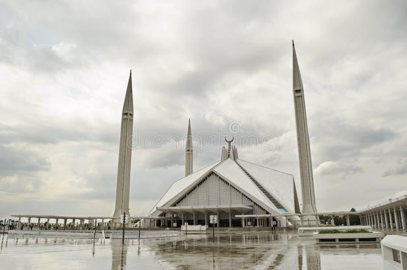 faisal shah мечети islamabad стоковые фото