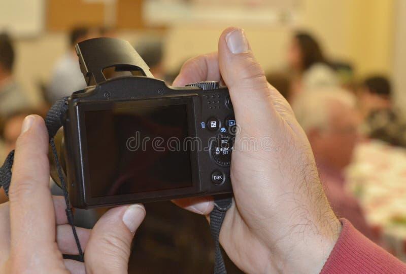 Faisant à souvenirs une photo d'une photo photographie stock libre de droits