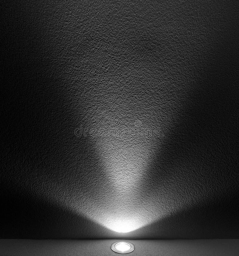Faisceau de lumière de projecteur image libre de droits