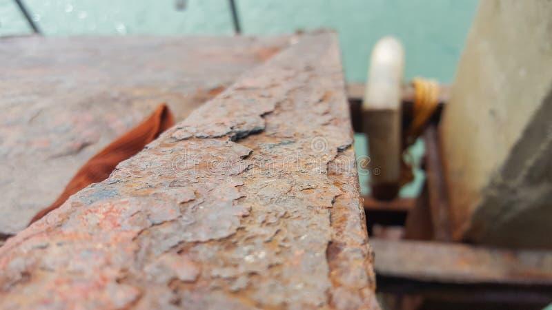 Faisceau rouillé dans le lanta Thaïlande de Kho photographie stock libre de droits