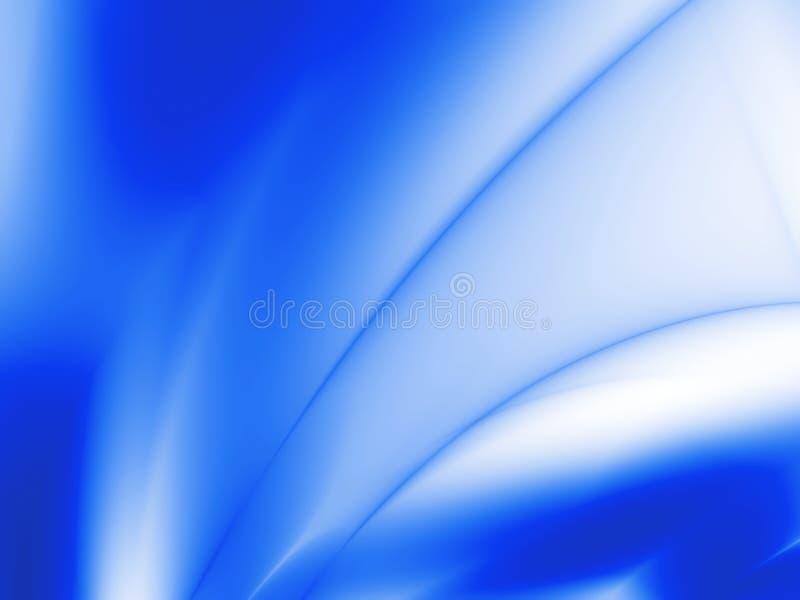Faisceaux bleus illustration stock