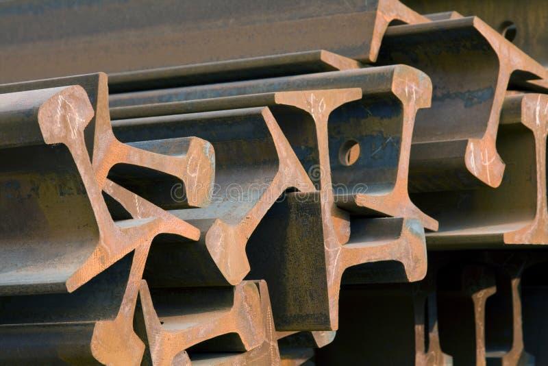 Faisceaux en acier photos stock