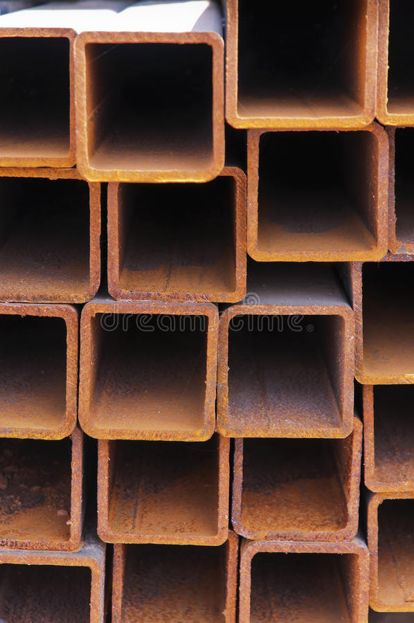 Faisceaux en acier image stock