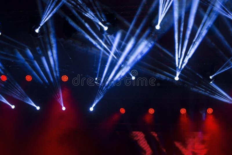 Faisceaux lumineux image libre de droits