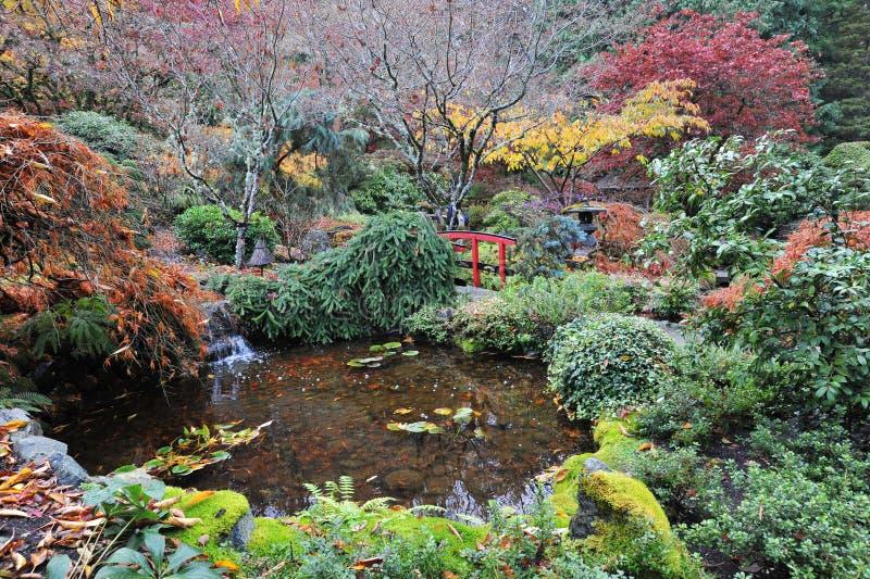fait du jardinage le Japonais photographie stock