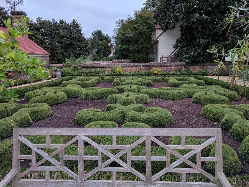 Fait du jardinage mt Vernon images libres de droits