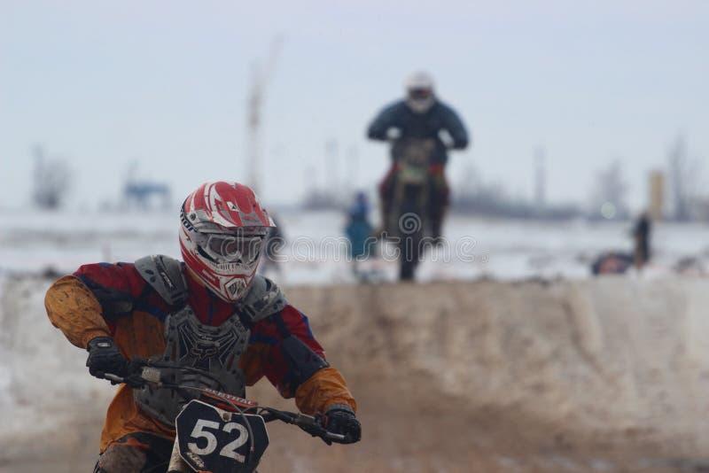 Fait du vélo la concurrence photo stock
