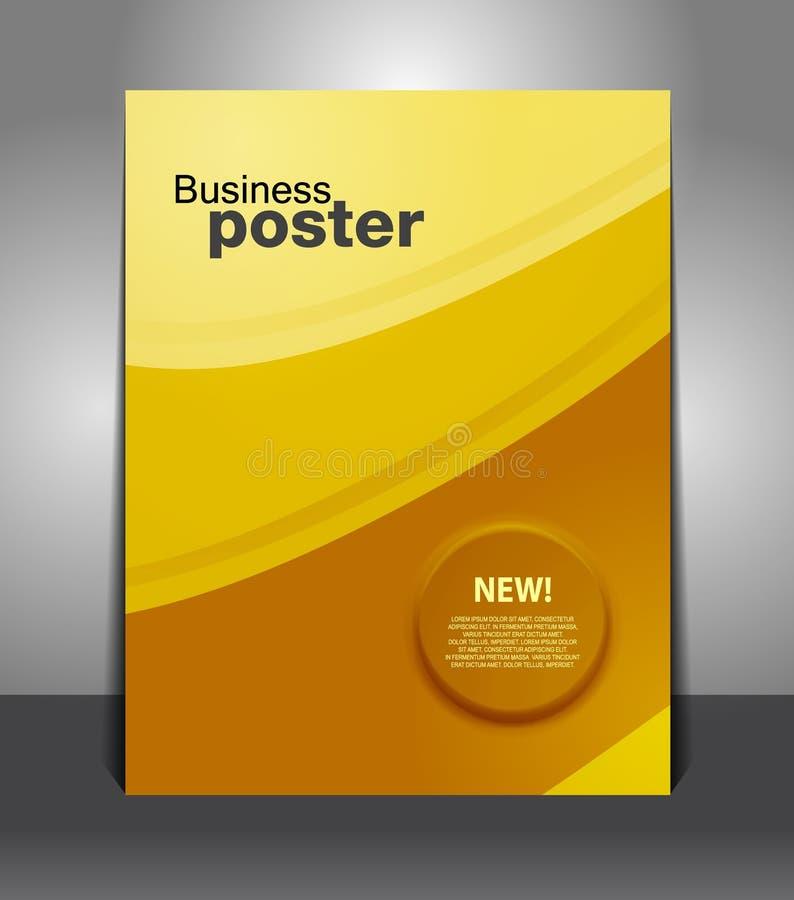 Faites de la publicité l'insecte/affiche d'affaires illustration libre de droits