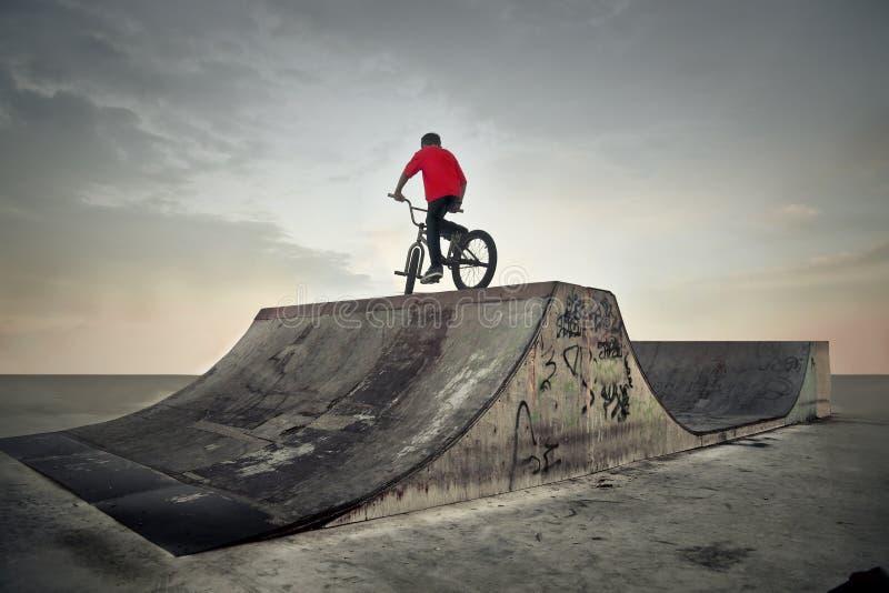 Faites du vélo le curseur photographie stock libre de droits