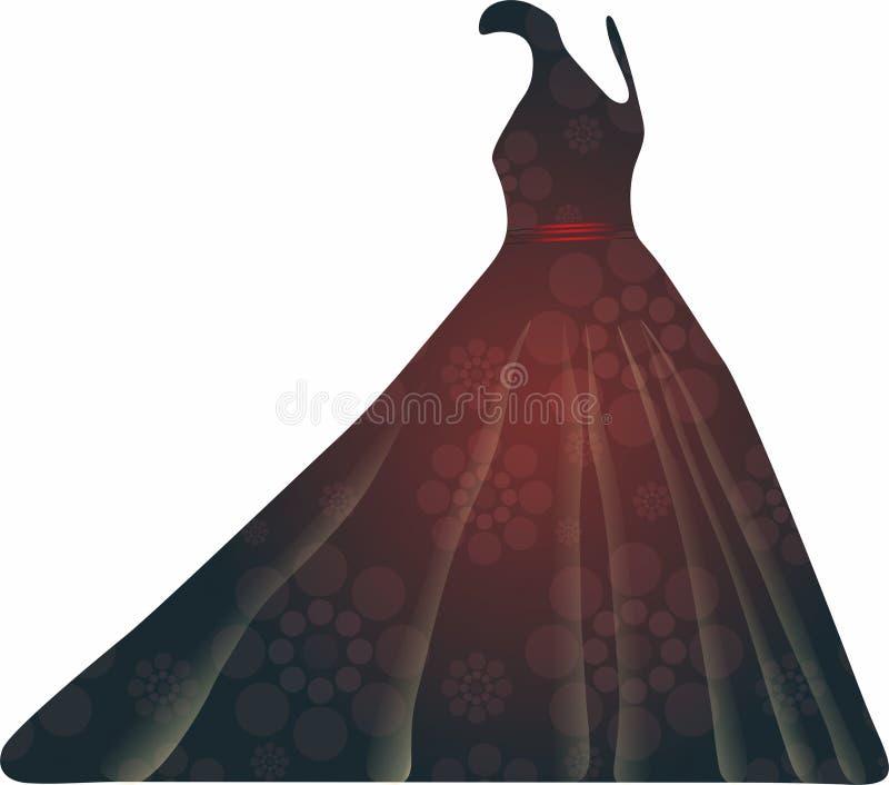 Faites la fête les icônes de robe pour les apps mobiles de concept et de Web illustration libre de droits